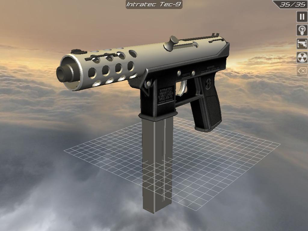 The gallery for --> Tech 9 Machine Gun