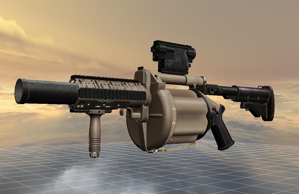 Battlefield 4 M32 MGL